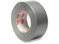 Duct tape PVC UV-gestabiliseerd zilver 50m 50 mm