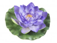 Lotus Foam Purple 17 cm