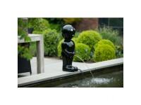 "AA BOY II - Polystone - ""Manneken Pis"" zwart - H67 x 23 x 23 cm"