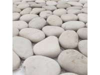 BEACH PEBBLES WHITE 50-70MM 15KG