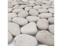 BEACH PEBBLES WHITE 50-70MM 15KG