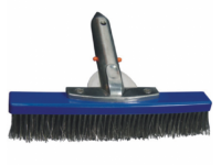 Bodem/wand borstel 25cm met RVS haren*