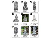 Buddha witsteen B5