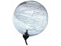 drijvende lichtballen 10 cm x3 + transfo