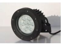 LED SCHIJNWERPER 3 X 1W RGBZONDER TRANSFO - 7M50 KABEL
