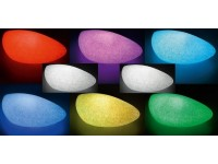 light led solar stone