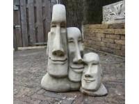 Triple Moai 45*60*100